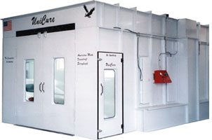 1003 Series Dowdraft Spraybooth Oven